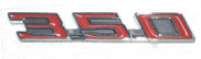 1967 - 1969 Firebird Hood Emblems 350 (Pair)