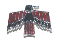 1967 - 1968 Firebird Fuel Door Emblem (2 Styles to choose from)