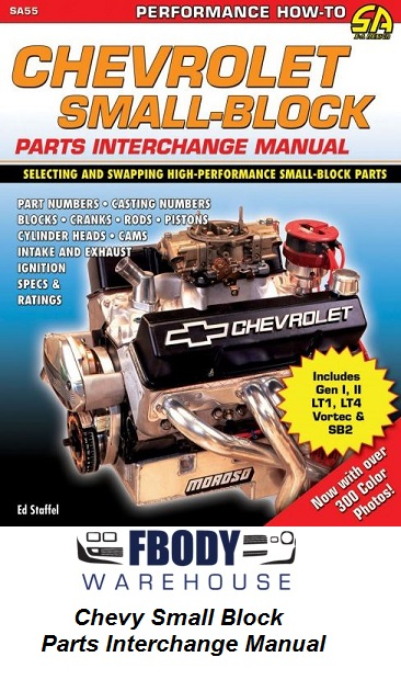 Chevrolet Small Block Parts Interchange Manual
