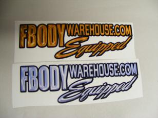 Company Logo, Fender decal racing decals,