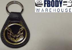 GOLD Firebird Trans Am Keychain