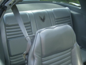 1979 10th Anniversary Trans Am Silver Seat Upholstery Covers NEW Front Seat Only