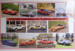 1974-1982 Camaro Traditions Poster