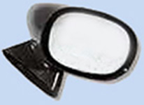 1970 - 1981 Camaro / Trans Am Right Hand Outer Bullet Mirror.