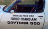 1981 Turbo Trans Am Daytona 500 Pace Car Door Decals