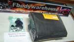 1980 - 1981 Trans Am Turbo Hood Insulation Set w/ Clips 301 Turbo