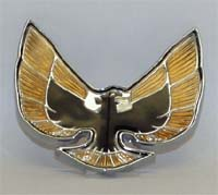 1974 - 1976 Trans Am GOLD Nose Crest Emblem