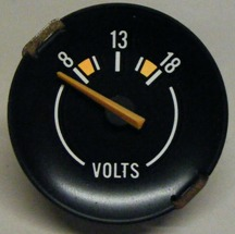 1970 - 1981 Camaro Volts Gauge Used GM