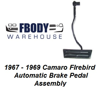 1967 - 1981 Camaro Firebird Automatic Brake Pedal
