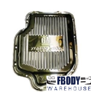 GM Turbo 400 Chrome Transmission Pan NEW
