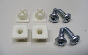 1970 - 1981 Camaro Trans Am License Plate Fastener Set