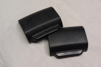 1970 - 1981 Camaro Trans Am Seat Belt Buckle Covers Pair NEW w/ INSTALL VIDEO