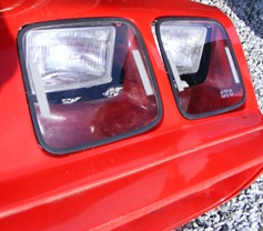 1979 - 1981 Trans Am Firebird Head Light Covers Clear