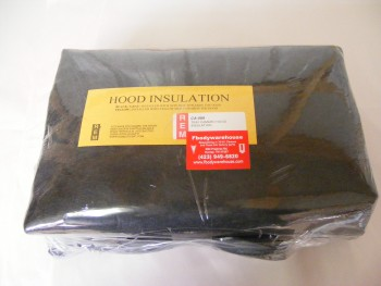 1985 - 1992 Firebird Trans Am Hood Insulation with Clips NEW