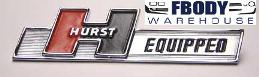 "Camaro / Trans Am ""Hurst Equipped"" Emblem New"