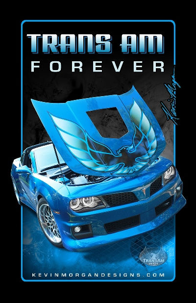 Kevin Morgan Trans Am FOREVER Blue Poster 11 x 17""