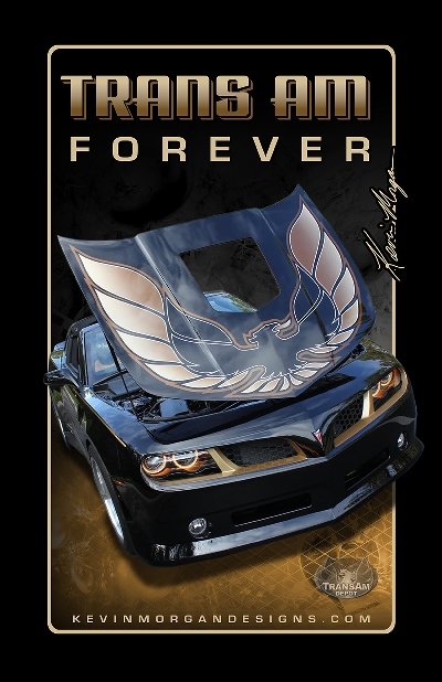 Kevin Morgan Trans Am FOREVER Gold Poster 11 x 17""