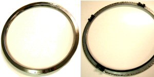 1972 - 1976 Trans Am Honeycomb Rim Beauty Rings Sold Individually