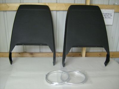1973 - 1981 Trans Am Deluxe Seat Back Set NEW 6 COLORS AVAILABLE!