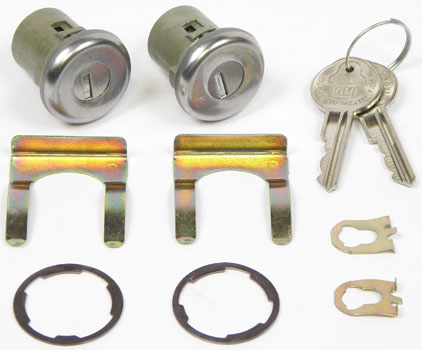 1970 - 1981 Trans Am Firebird Door Lock Set WITH INSTALL VIDEO!