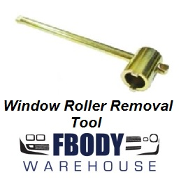 Window Roller Removal Tool