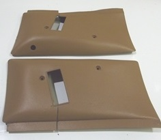 1975 - 1981 Camaro Trans Am Upper Seat Belt Covers T-top Used GM!