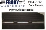 1964 - 1965 Plymouth Barracuda Door Panels
