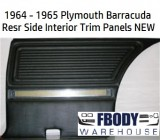 1964 - 1965 Plymouth Barracuda Interior Side Trims