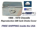 1966 - 1970 Chevelle Choke Shield Cover New