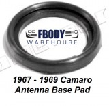 1967 - 1969 Camaro Antenna Base Gasket Metro Moulded