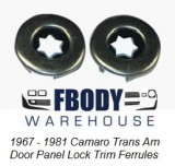 1967 - 1981 Camaro Trans Am Door Panel Lock Trim Rings