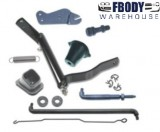 1967 - 1969 Camaro Clutch Linkage Kit for SMALL BLOCK Cars