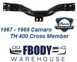 1967 - 1969 Camaro TH 400 Crossmember for Big Block Cars