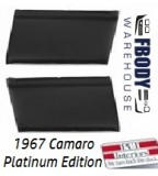 1967 Camaro Standard Rear Interior Panels Convertible 5 Colors Available PLATINUM EDITION