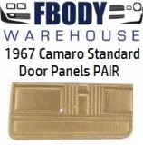 1967 Camaro Standard Door Panels 5 Available Colors
