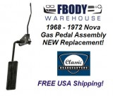 1968 - 1972 Nova Complete Gas Pedal Kit