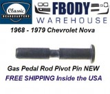 1968 - 1979 Nova Gas Pedal Assembly Retainer Pin NEW