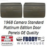 1968 Camaro Standard Door Panels 5 Available Colors PLATINUM EDITION