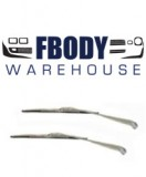 1967 - 1969 Camaro Firebird Windshield Wiper Arms & Blades Full Kit for CONVERTIBLE model only.