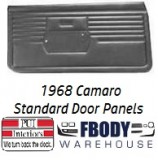 1968 Camaro Standard Door Panels 5 Available Colors