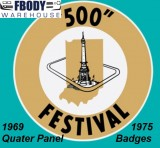 1969 Camaro Indianapolis 500 Pace Car Edition Festival Car Quarter Panel Badges Sold as a Pair