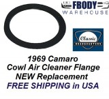 1969 Camaro Cowl Induction Air Cleaner Flange NEW