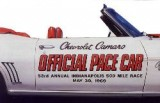1969 Camaro Indianapolis 500 Pace Car Door Decal Kit