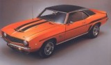 1969 Camaro YENKO Body Decal Kit