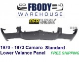 1970 - 1973 Camaro Standard Lower Valance Panel NEW