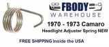 1970 - 1973 Camaro Headlight Adjuster Spring NEW