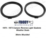 1970 - 1973 Camaro Reverse Light Gaskets Metro Moulded