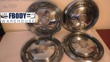 1970 - 1981 Pontiac Firebird GM Hub Caps (Set of 4)