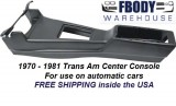 1970 - 1981 Trans Am Center Console NEW Automatic