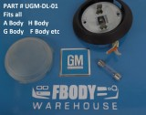 F body G Body A Body 100% Complete GM dome light set 20030351
